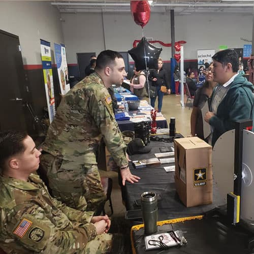 La Mega Career Event with the US Army